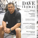 Dave Thomas Personal Trainer