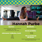Hannah Purbe Personal Trainer